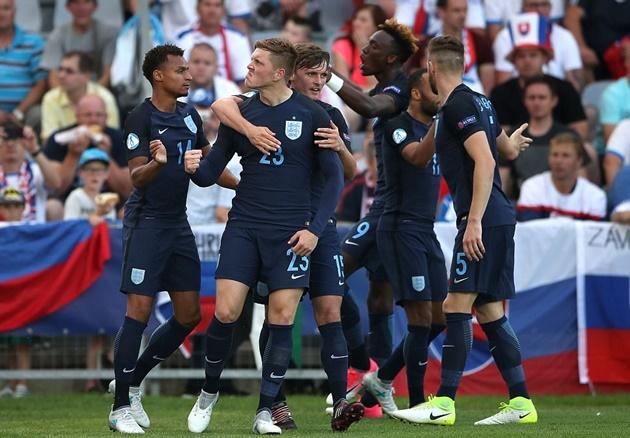 Ngược dòng thành công, U21 Anh thắp lại hi vọng đi tiếp - Bóng Đá