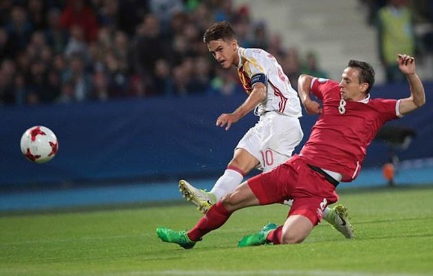 Thắng nhàn U21 Serbia, U21 Tây Ban Nha hiên ngang tiến bước vào Bán kết - Bóng Đá