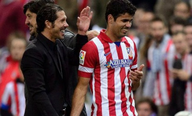 Atletico có thưc mặn mà với người cũ Diego Costa? - Bóng Đá