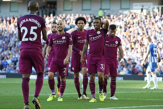 Brighton 0-2 Man City: Song sát Nam Mỹ khẳng định đẳng cấp - Bóng Đá