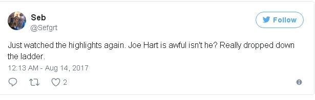 Joe Hart bị