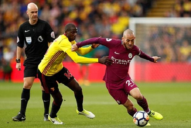 TRỰC TIẾP Watford 0-0 Manchester City: Fernandinho sút xa suýt thành bàn - Bóng Đá