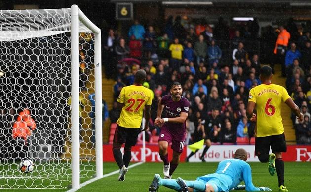 5 điểm nhấn Watford 0-6 Man City: Aguero thăng hoa, bệnh binh Gundogan trở lại - Bóng Đá