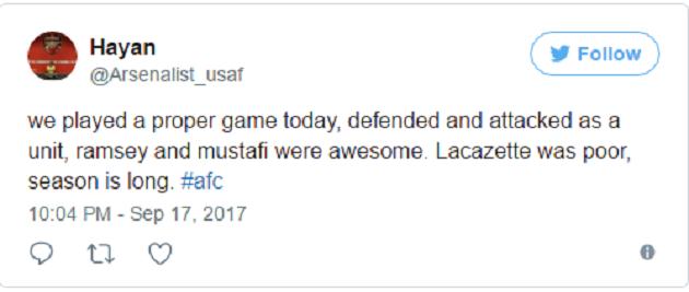 CĐV thất vọng tràn trề sau màn trình diễn của Lacazette - Bóng Đá