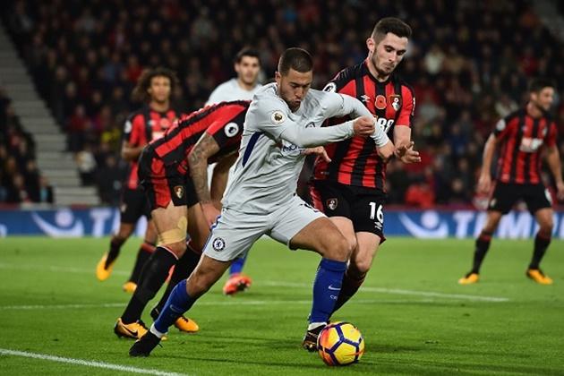 5 điểm nhất Bournemouth 0-1 Chelsea: Morata vô duyên, Hazard đúng chất thủ lĩnh - Bóng Đá