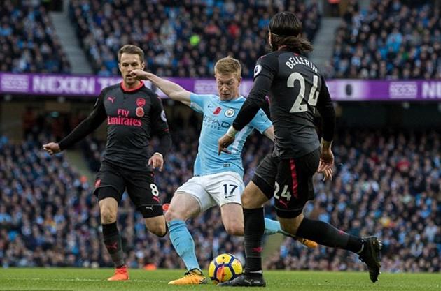 5 điểm nhấn Man City vs Arsenal: Trọng tài phá hỏng trận đấu - Bóng Đá