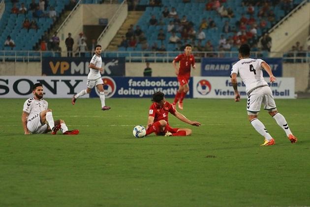 TRỰC TIẾP Việt Nam 0-0 Afghanistan: Việt Nam suýt thủng lưới (H1) - Bóng Đá