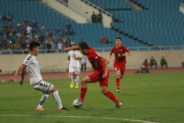 TRỰC TIẾP Việt Nam 0-0 Afghanistan: Việt Nam thiệt quân (H1) - Bóng Đá