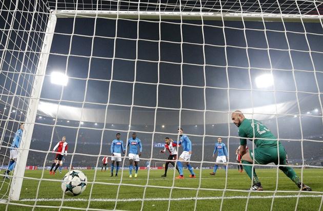 Ảnh Napoli vs Feyenoord  - Bóng Đá