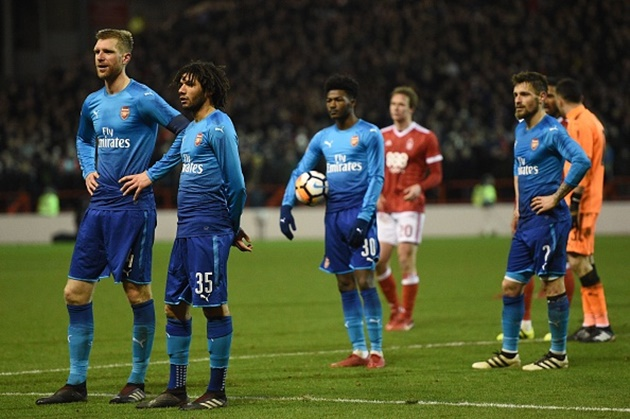 5 điểm nhấn Nottingham Forest 4-2 Arsenal: