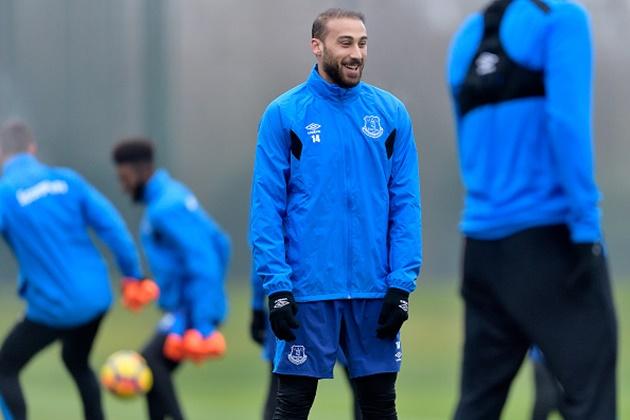 Tân binh đắt giá của Everton lao đầu luyện tập, sẵn sàng bắn hạ Gà trống - Bóng Đá