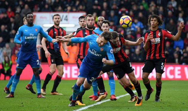 TRỰC TIẾP Bournemouth 0-1 Arsenal: Bellerin nổ súng (H2) - Bóng Đá