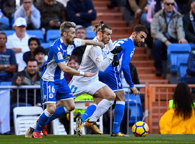 TRỰC TIẾP Real Madrid 2-1 Deportivo La Coruna: Bale lập siêu phẩm (H1) - Bóng Đá
