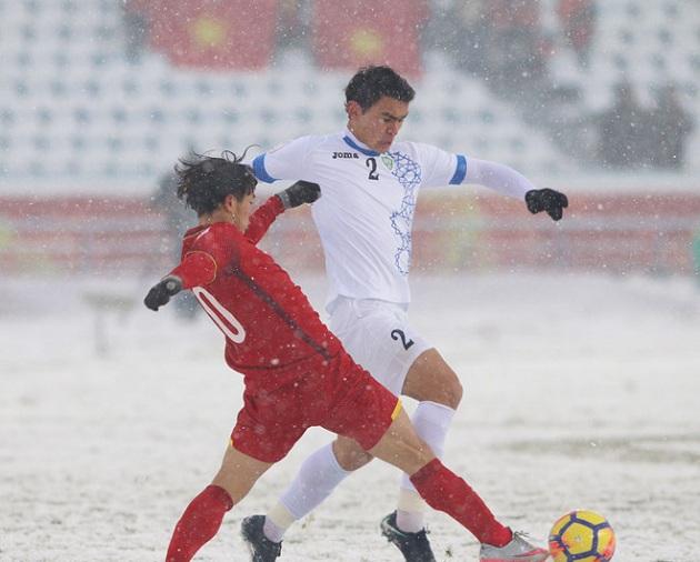5 điểm nhấn U23 Việt Nam U23 Uzbekistan: - Bóng Đá
