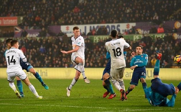 Cech mắc sai lầm nghiêm trọng, Arsenal thua thảm trước đội bét bảng - Bóng Đá