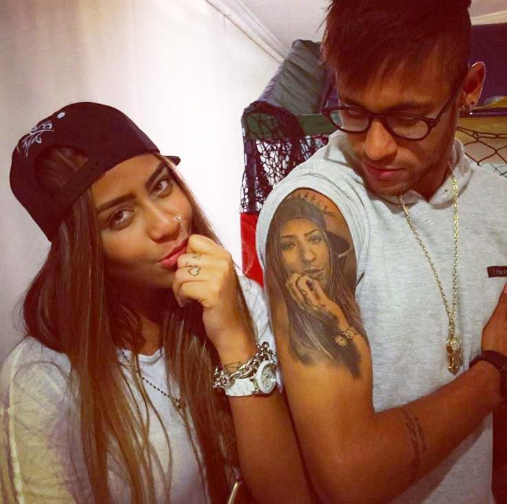 Tiết lộ những hình xăm trên người Neymar - Bóng Đá