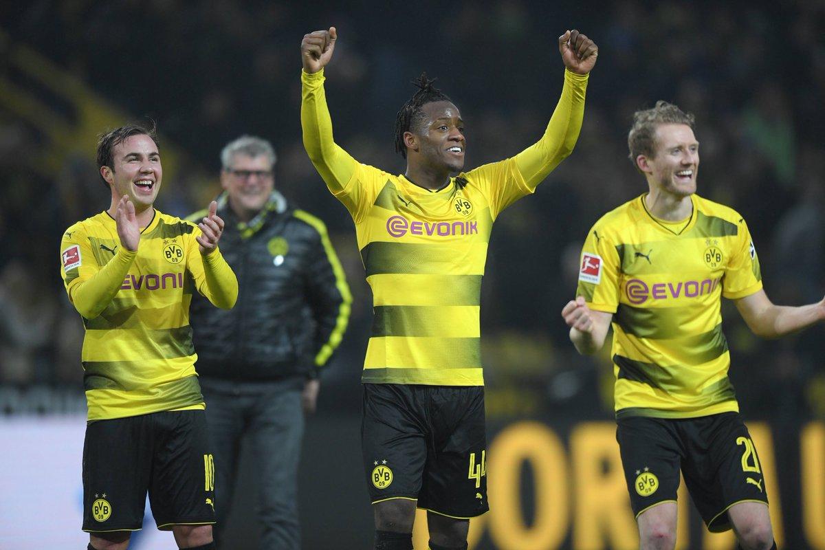 Dortmund muốn giữ chân Michy Batshuayi thật lâu - Bóng Đá