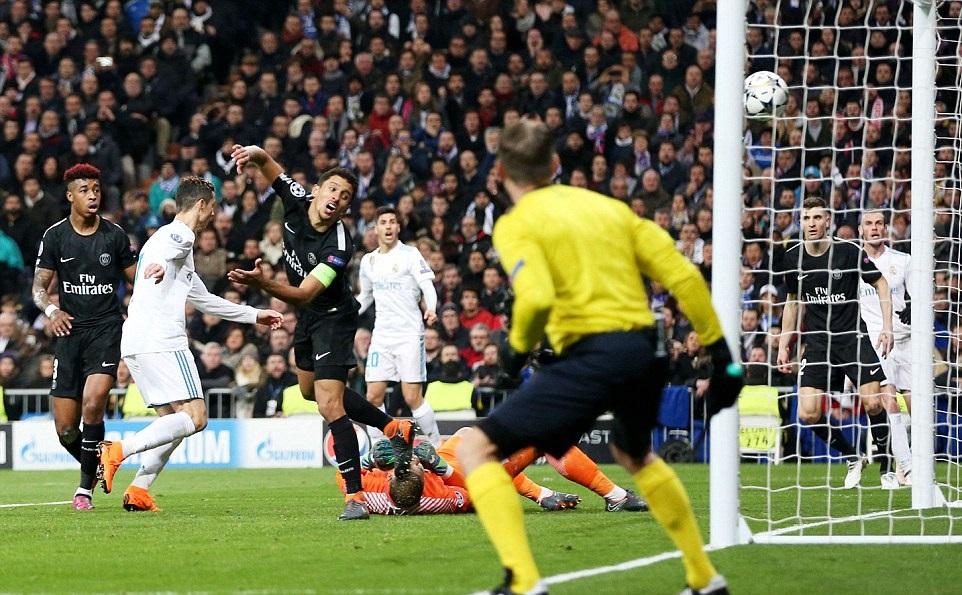 Ronaldo lập cú đúp, nhấn chìm PSG ngay tại Bernabeu - Bóng Đá
