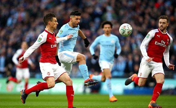 Hủy diệt Arsenal, Pep Guardiola có danh hiệu đầu tiên ở Anh - Bóng Đá
