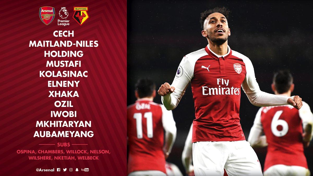 TRỰC TIẾP Arsenal vs Watford: - Bóng Đá