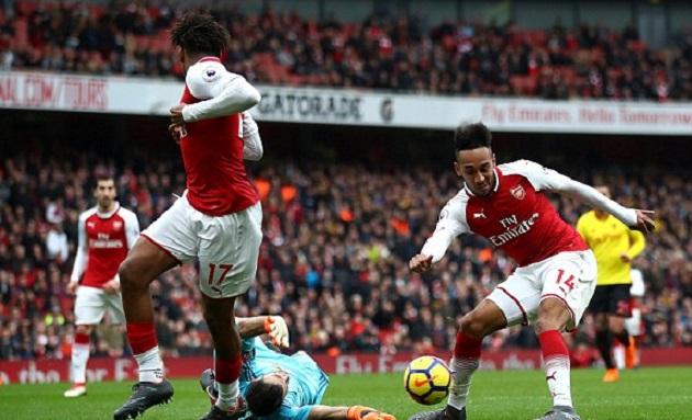 TRỰC TIẾP Arsenal 2-0 Watford: Aubameyang lập công (H2) - Bóng Đá