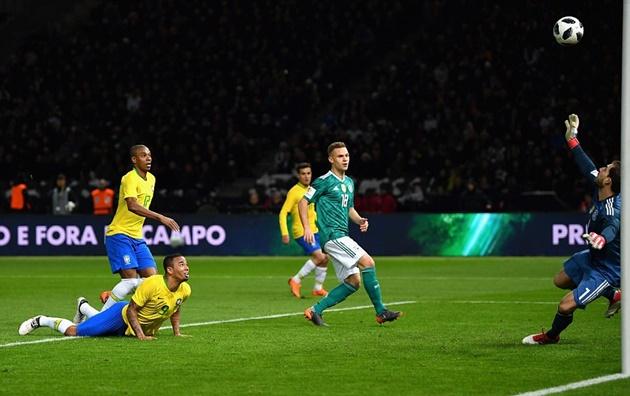 5 điểm nhấn Đức 0-1 Brazil: Cỗ xe tăng đứt mạch bất bại - Bóng Đá