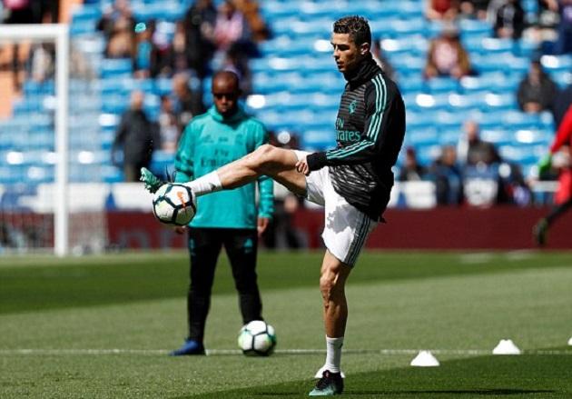 TRỰC TIẾP Real vs Atletico: Ronaldo mất đối tác ăn ý
