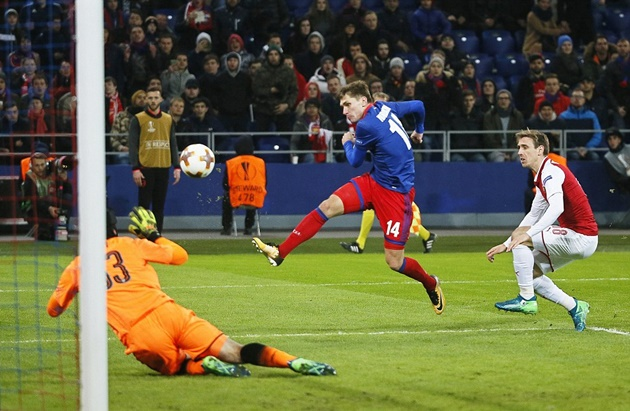5 điểm nhấn CSKA Moscow 2-2 Arsenal: Chủ nhà quật khởi, Cứu tinh Welbeck - Bóng Đá