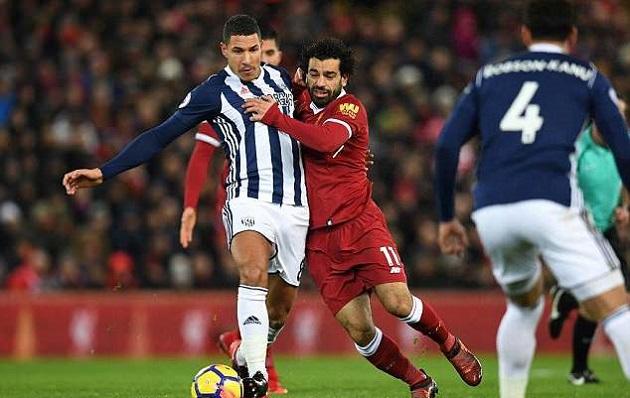 TRỰC TIẾP West Brom 0-1 Liverpool: Salah suýt lập công (H1) - Bóng Đá