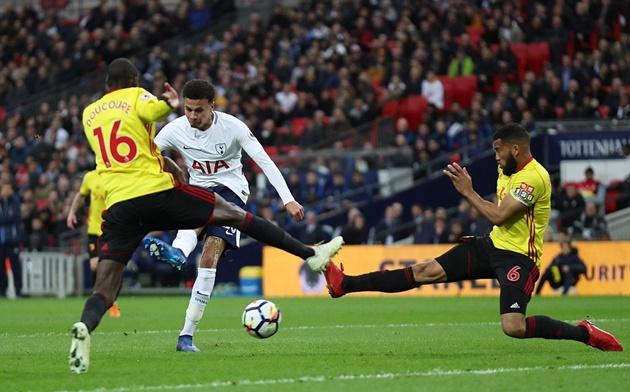 Diệt gọn Watford, Tottenham khiến cuộc đua top 4 thêm phần nóng bỏng - Bóng Đá