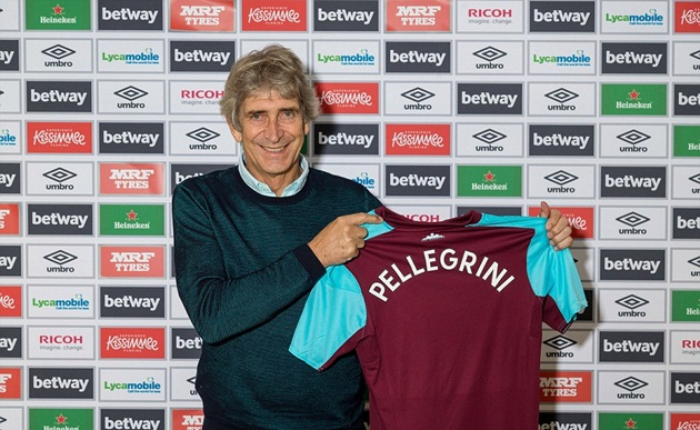 Manuel Pellegrini đến West Ham, nhận lương hơn cả Conte - Bóng Đá