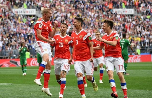 TRỰC TIẾP Nga 1-0 Saudi Arabia: Gazinskiy đánh đầu mở điểm (H1) - Bóng Đá