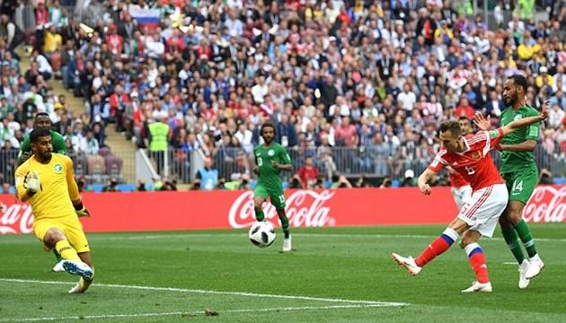 TRỰC TIẾP Nga 2-0 Saudi Arabia: Cheryshev nổ súng (H1) - Bóng Đá