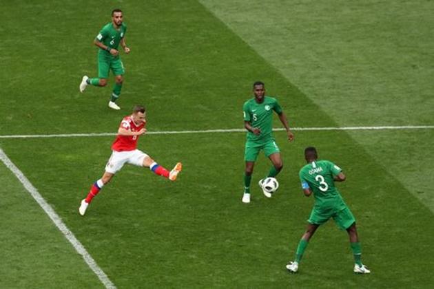5 điểm nhấn Nga 5-0 Saudi Arabia: Chủ nhà ra sức thị uy, Golovin