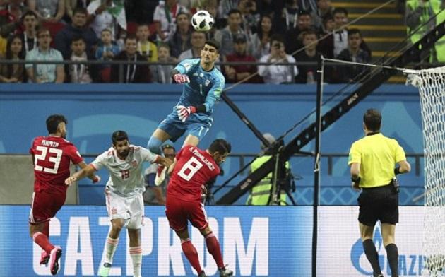 5 điểm nhấn Iran 0-1 Tây Ban Nha: - Bóng Đá