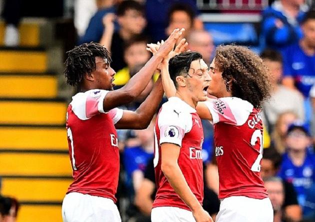 TRỰC TIẾP Chelsea 2-2 Arsenal: Về vạch xuất phát (H1) - Bóng Đá