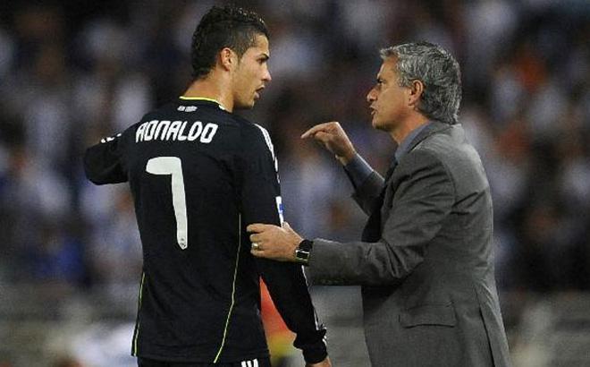 Nhìn lại mâu thuẫn giữa Ronaldo và Mourinho - Bóng Đá