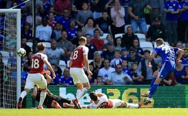 5 điểm nhấn Cardiff 2-3 Arsenal: Bắt Cech chơi chân là tội ác, Aubameyang giải hạn - Bóng Đá