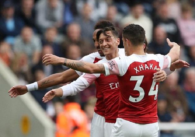 TRỰC TIẾP Newcastle 0-2 Arsenal: Ozil tỏa sáng đúng lúc (H2) - Bóng Đá