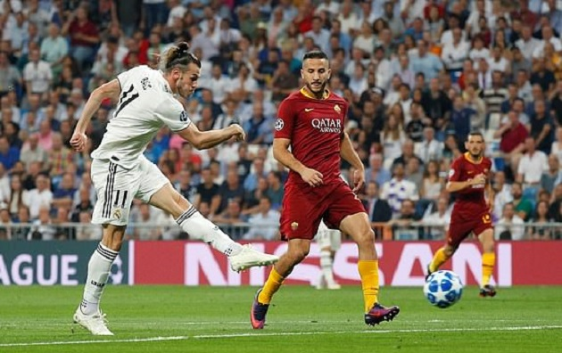 5 điểm nhấn Real Madrid 3-0 Roma: Bale vượt mặt Ronaldo, Số 7 mới của Real đi vào lịch sử
