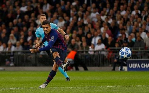 TRỰC TIẾP Tottenham 0-1 Barca: Coutinho nổ súng (H1) - Bóng Đá