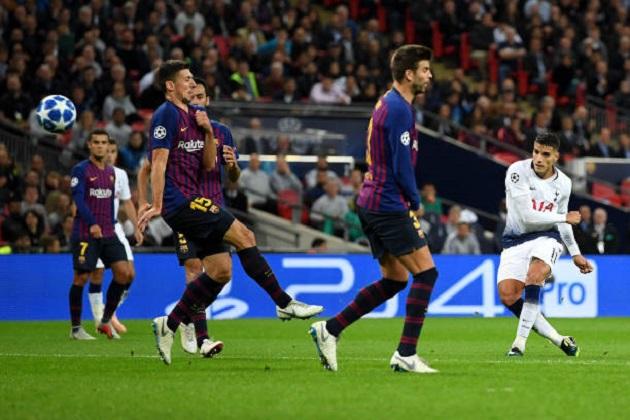 TRỰC TIẾP Tottenham 2-3 Barca: Lamela ghi bàn may mắn (H2) - Bóng Đá