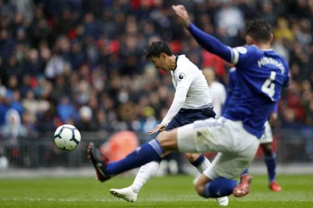 TRỰC TIẾP Tottenham 1-0 Cardiff: Son suýt nổ súng (H2) - Bóng Đá