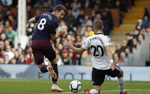 TRỰC TIẾP Fulham 1-3 Arsenal: Ramsey ghi điểm trước Emery (H2) - Bóng Đá