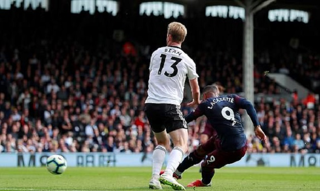 TRỰC TIẾP Fulham 0-1 Arsenal: Lacazette nổ súng (H1) - Bóng Đá