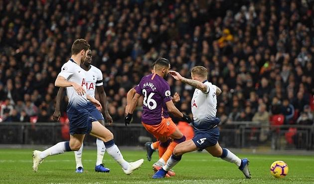 5 điểm nhấn Tottenham 0-1 Man City: Mahrez đáng đồng tiền bát gạo,