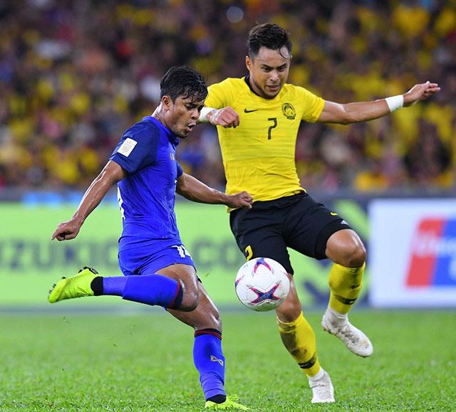 TRỰC TIẾP Thái Lan 1-1 Malaysia: Siêu phẩm của Safari (H2) - Bóng Đá