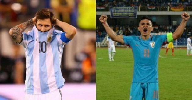Xé lưới Thái Lan, sao Ấn Độ vượt mặt Lionel Messi - Bóng Đá