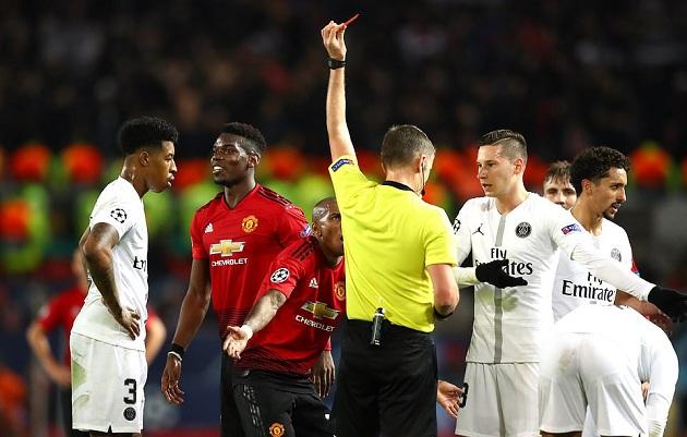 Man Utd quá tệ hay PSG đã gặp may tại Old Trafford? - Bóng Đá