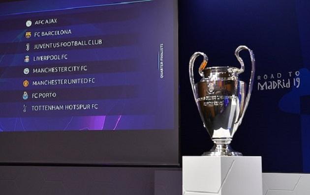 TRỰC TIẾP BỐC THĂM Champions League: Julio Cesar bước ra bàn bốc thăm - Bóng Đá